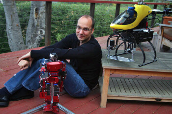 Google buys seven robotics firms, tasks Android's Andy Rubin with the creation of our future overlords