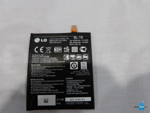 LG G Flex - up close