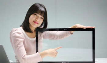LG Innotek Metal Mesh touch panel