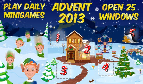 25 Days of Christmas - Holiday advent Calendar 2013 - Android, iOS - Free