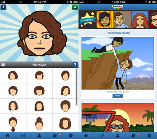 Bitstrips - Android, iOS - Free