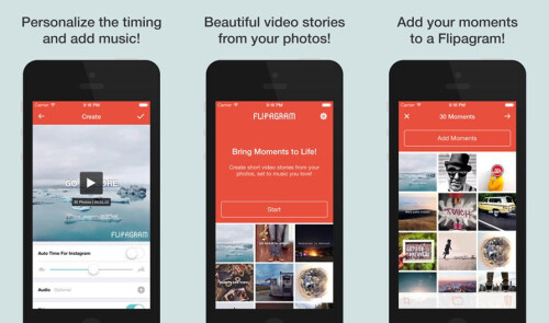 Flipagram - Android, iOS - Free