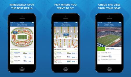 SeatGeek Event Tickets - Android, iOS - Free