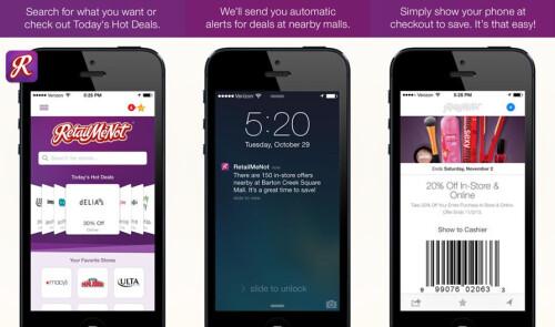 RetailMeNot Coupons - Android, iOS - Free