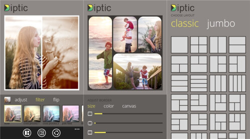 Diptic - Windows Phone - Free