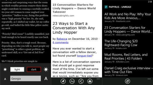 Papyrus - Windows Phone - Free