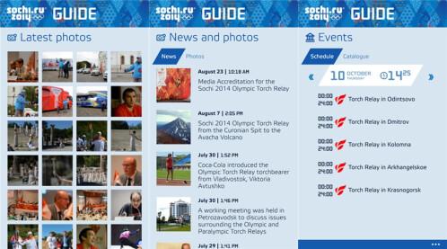 Sochi 2014 Guide - Windows Phone - Free