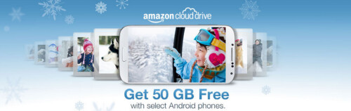 Amazon promotion gives out 50GB of cloud storage with the purchase of certain Android models