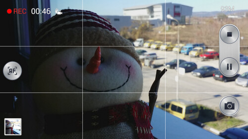 Focus in videos can be locked