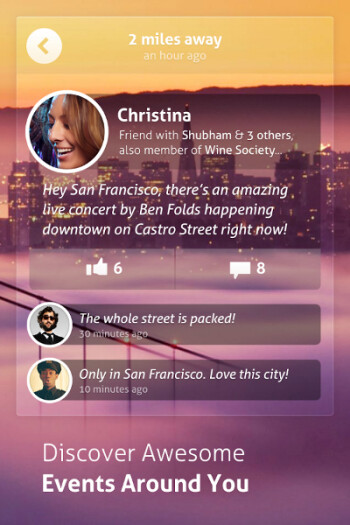 Local social network app Circle receives new looks and features