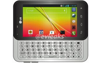 LG Optimus F3Q with slide-out QWERTY keyboard headed to T-Mobile