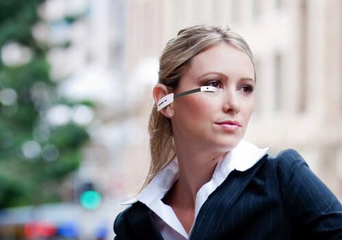 Vuzix M100 smart-glasses