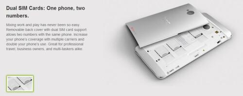 HTC One dual SIM ($690)