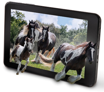 No Glasses 3D tablet unveiled by Hammacher Schlemmer, comes with lifetime warranty