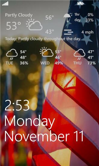 Weather Hound for Windows Phone 8