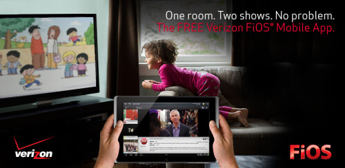 Verizon FiOS mobile app