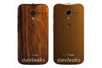 "Leaked pic shows wooden backs that are coming to the Moto X ""very soon"""