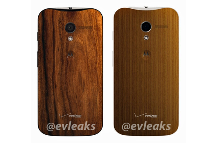 """Leaked pic shows wooden backs that are coming to the Moto X """"very soon"""""""