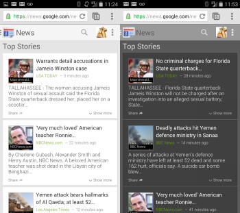 Google News mobile website gets major redesign