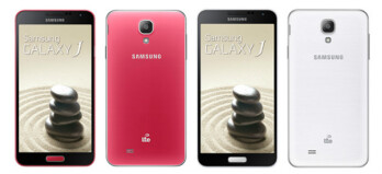 The Samsung Galaxy J, officially unveiled in Taiwan