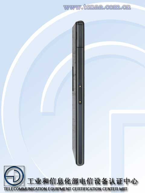 Sony Xperia L39t, supposedly the Z1s