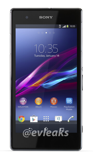 The Xperia Z1s, the T-Mobile version