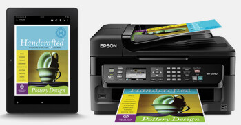 Amazon Kindle Fire HD and Amazon Kindle Fire HDX tablets will allow you to print wirelessly to an Epson Connect printer