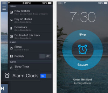 Update the Pandora for iOS app and you will have an alarm clock that can wake you up to the strains of your favorite artist
