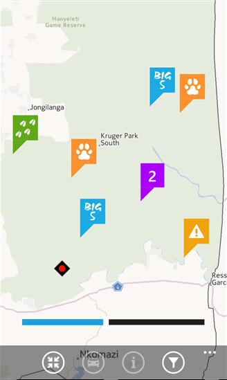Wildlife Tracker screenshots