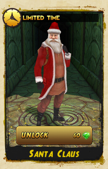 Temple Run 2 holiday-themed update lets you run as Santa