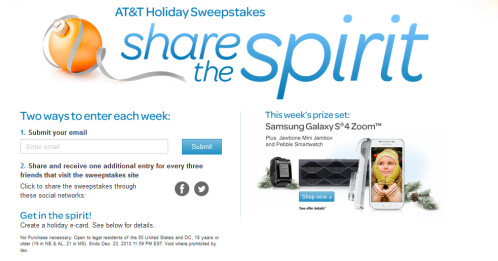 Win a Samsung Galaxy S4 Zoom bundle from AT&T