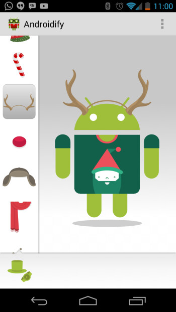 Androidify gets an update for the holidays