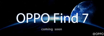 Oppo teases Find 7 as 'coming soon', allegedly with 2560x1440 display, 3 GB of RAM and Snapdragon 805