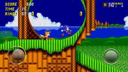 Sonic the Hedgehog 2 screenshots