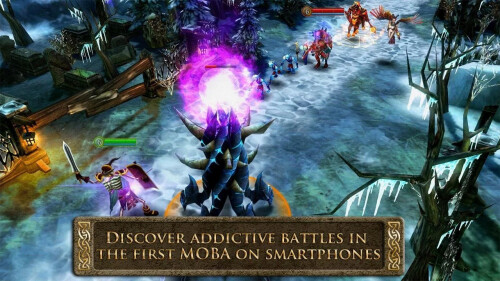 Order & Chaos series by Gameloft