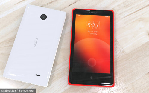 Here's how an Android-powered Nokia phone could look like