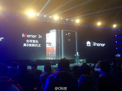 Huawei Glory 3X unveiled as the company's first octa-core phone