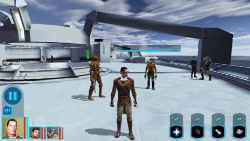 Updated SW: KotOR visuals