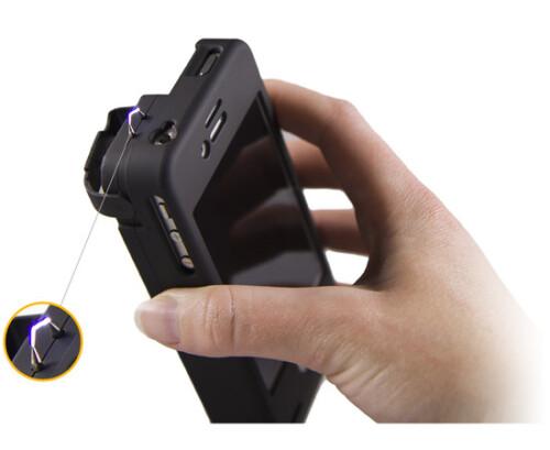 Yellow Jacket Stun Gun iPhone case