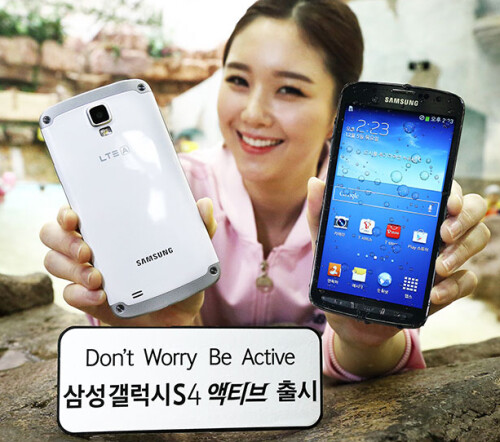 Samsung Galaxy S4 Active launches in South Korea