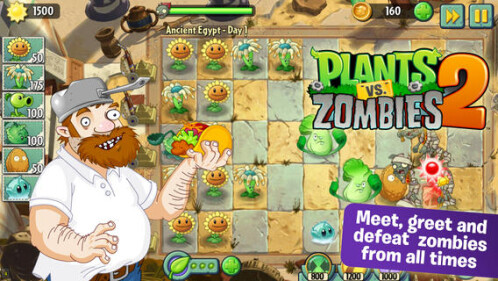iPhone second runner-up: Plants vs Zombies 2 - Free