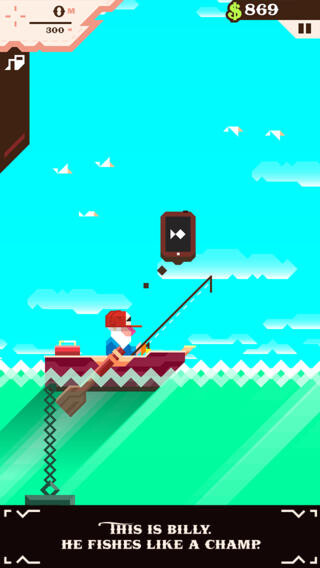 iPhone game of 2013: Ridiculous Fishing - $2.99