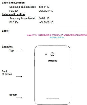 Samsung Galaxy Tab 3 Lite (SM-T110) hits the FCC as its release is probably getting nearer