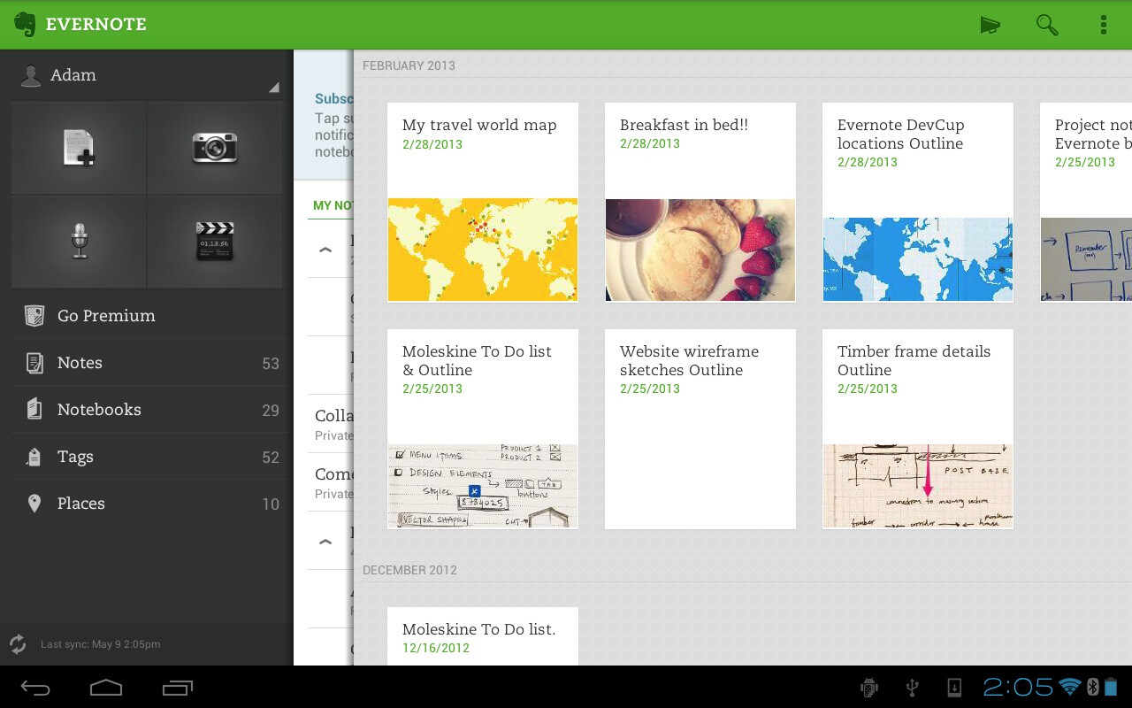 Evernote Updates Android App With Improved Note Editing