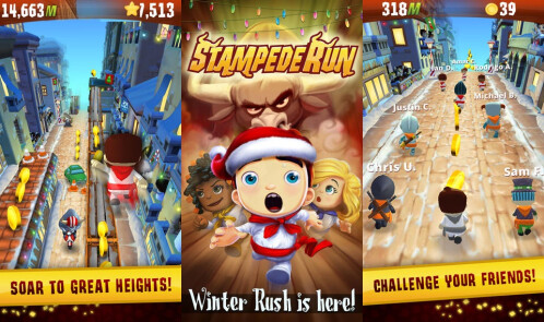 Stampede Run - Android, iOS - Free