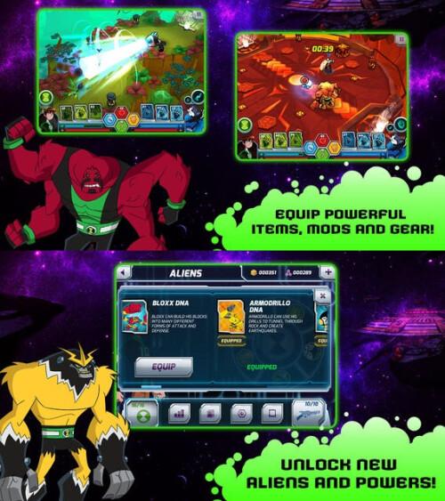 Wrath of Psychobos - Ben 10 - Android, iOS - $2.99