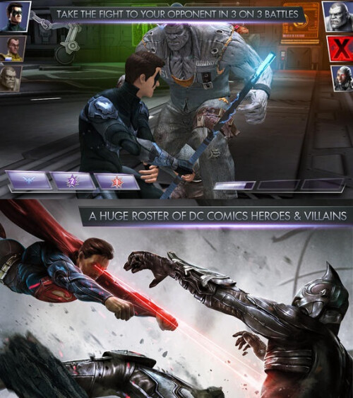 Injustice: Gods Among Us - Android, iOS - Free