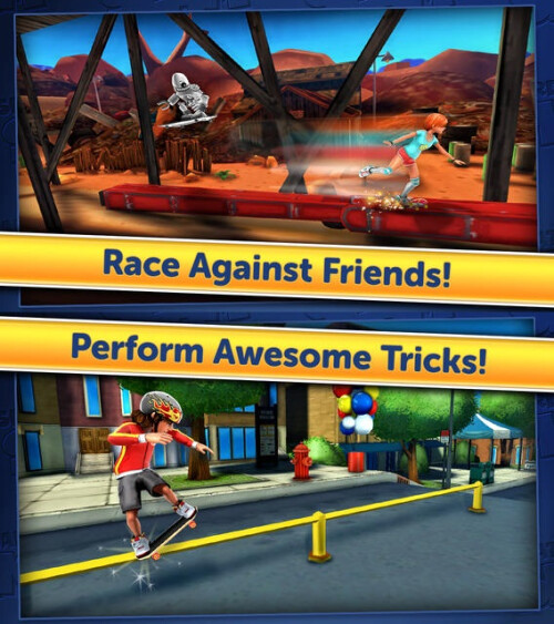 Skateboard Slam - iOS - Free