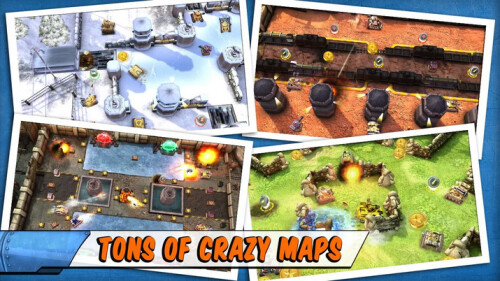 Tank Battles - Android, iOS - Free
