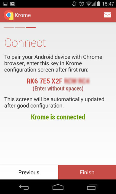 Krome for Android